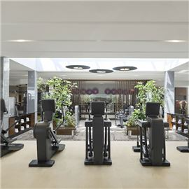 Sheraton Fitness Gym offers state-of-the-art cardio machines and weight training equipment to suit all your cardio and strength training needs.